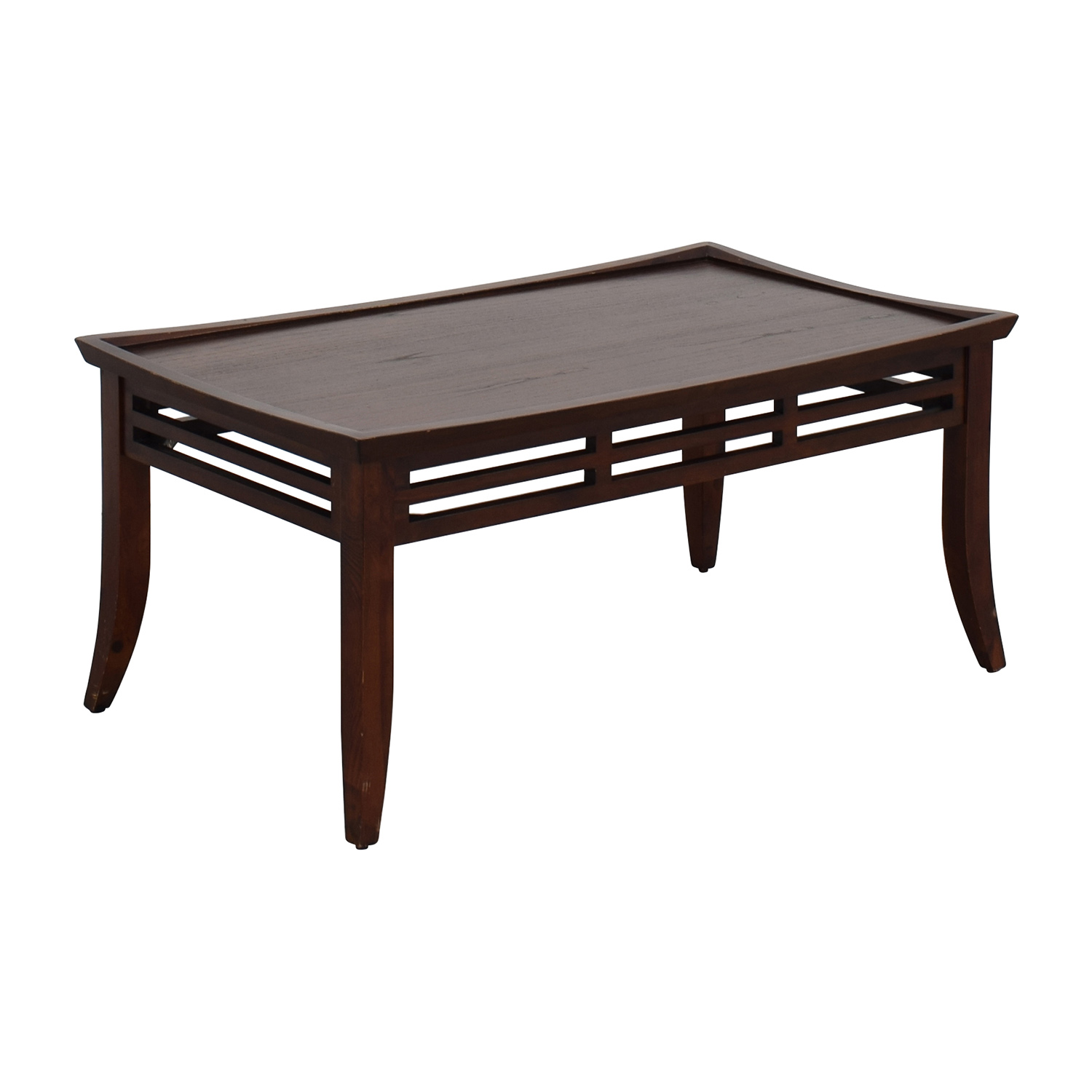 50 Off Modern Dark Brown Coffee Table Tables