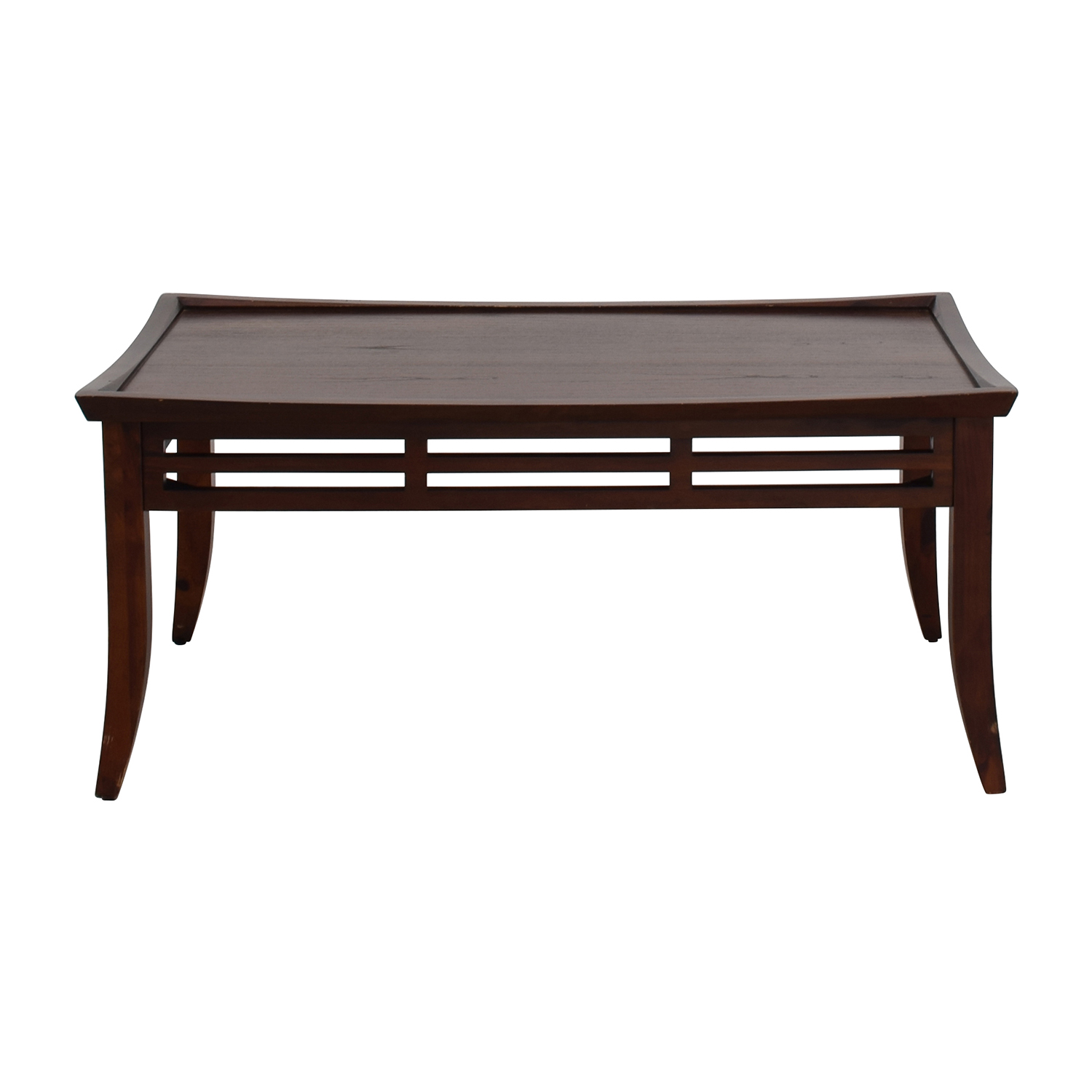 Modern Dark Brown Coffee Table for sale