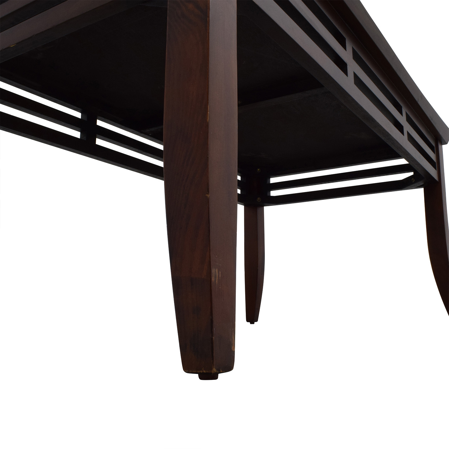 Modern Coffee Table Brown: Modern Dark Brown Coffee Table / Tables
