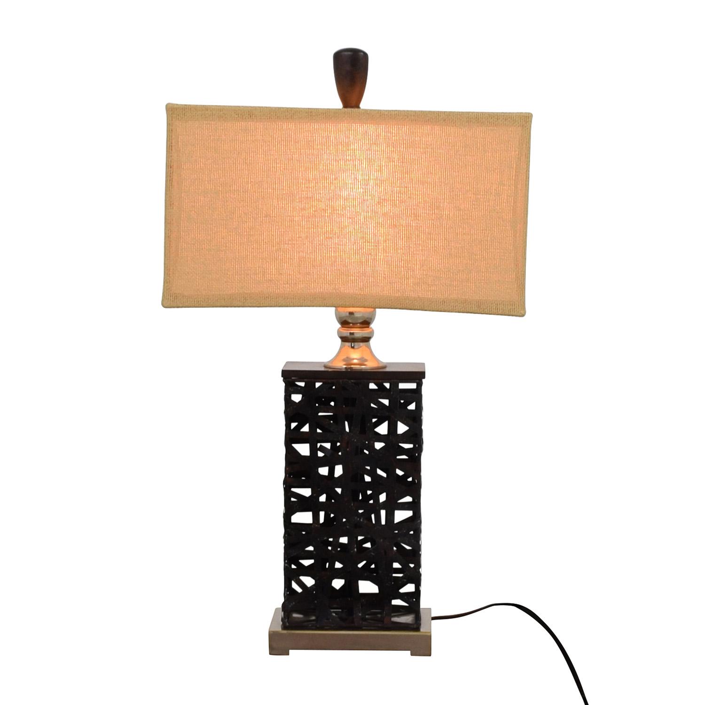 Dark Metal Table Lamp Lamps
