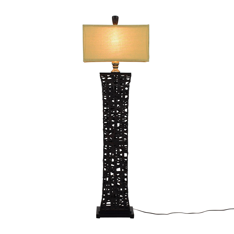 Dark Metal Floor Lamp dimensions