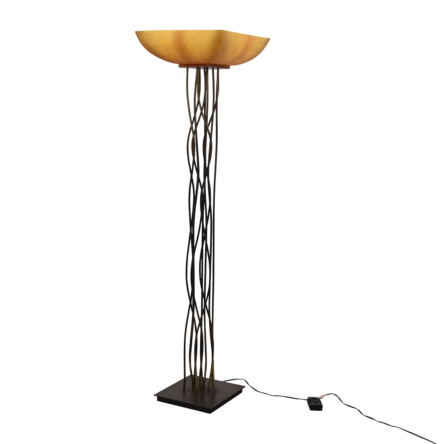 82 off metal twig floor lamp decor With metal twig floor lamp