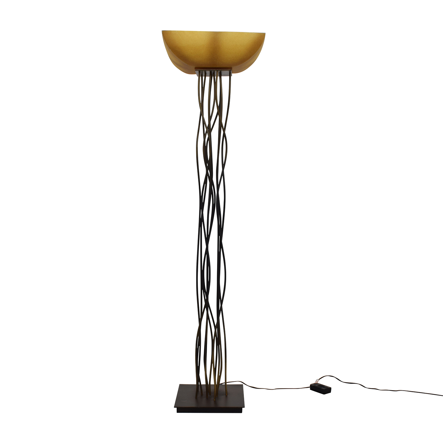 shop Metal Twig Floor Lamp Lamps