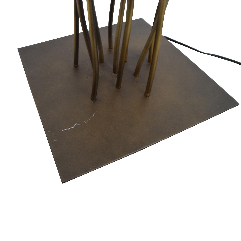 82 OFF Metal Twig Floor Lamp Decor
