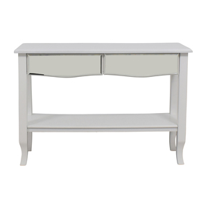 shop  White Mirrored Console Table with Two-Drawers online