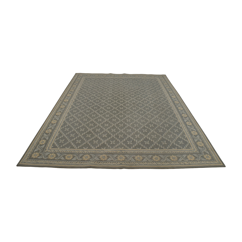buy Safavieh Wilton Grey and Light Blue Wool Rug Safavieh Rugs