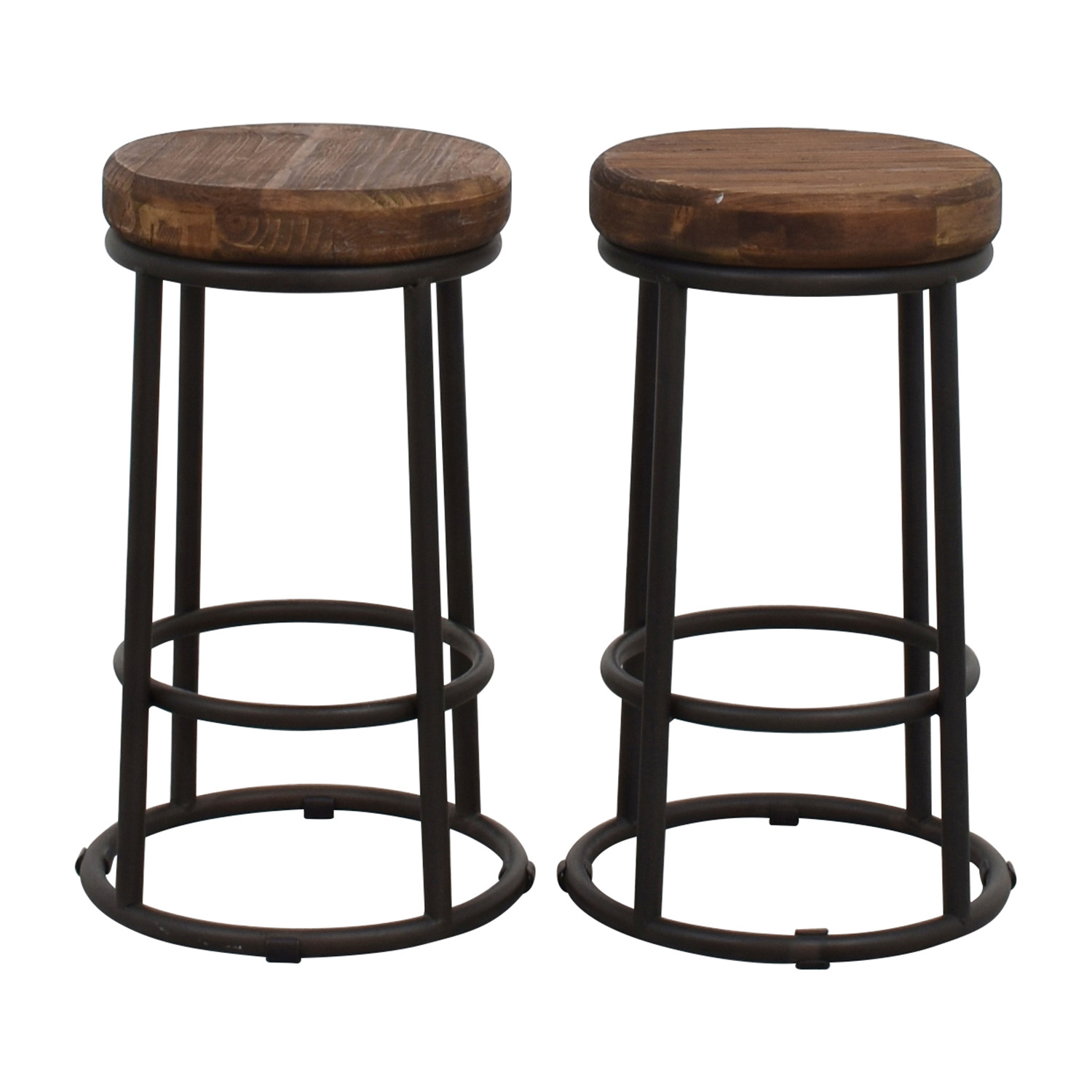 1 Kings Lane 1 Kings Lane Joy Bar Stools used