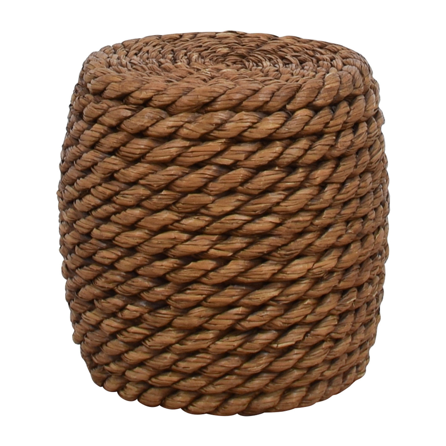 CB2 CB2 Wicker End Table Tables
