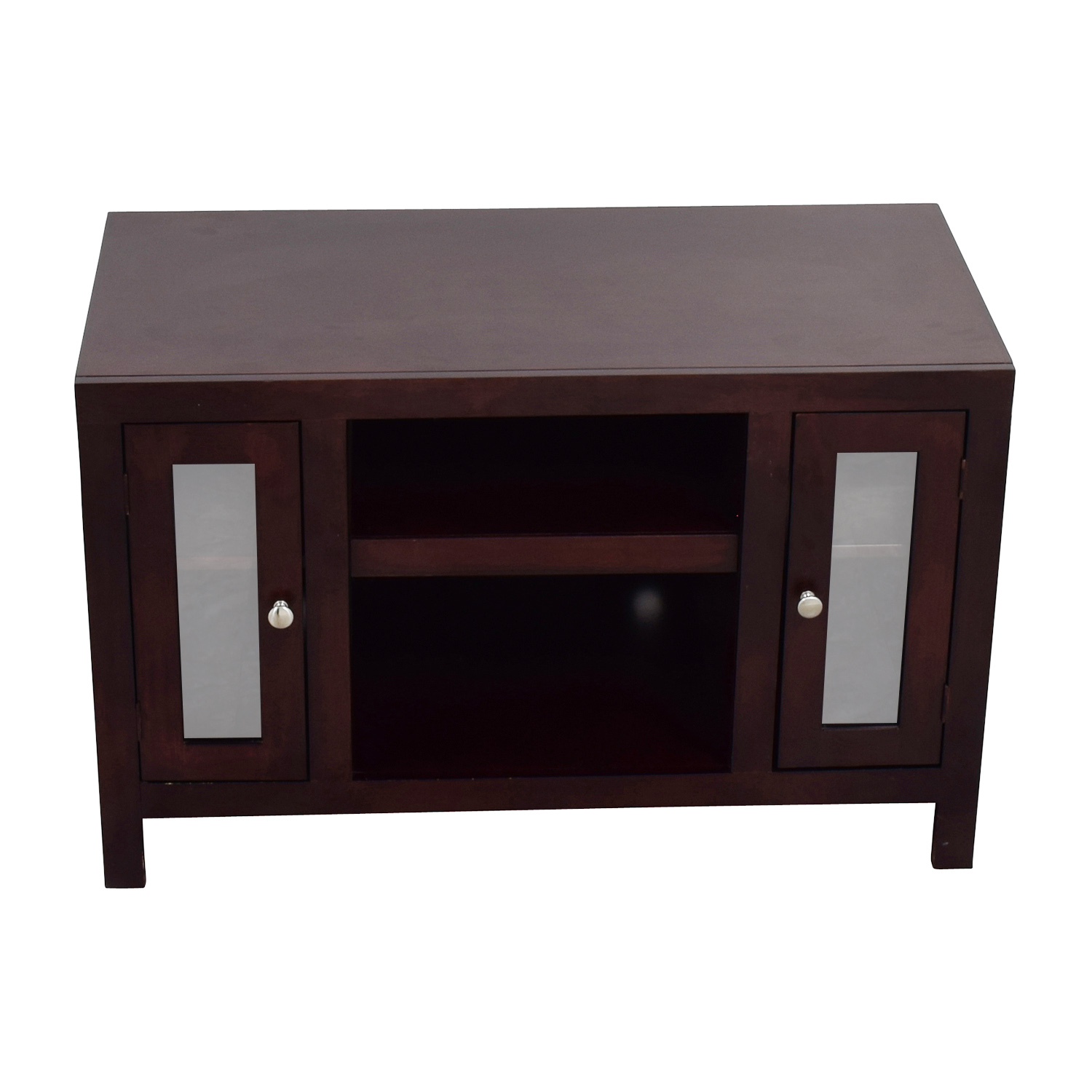 Golden Oak Golden Oak Del Mar Cherry Wood TV Console nj
