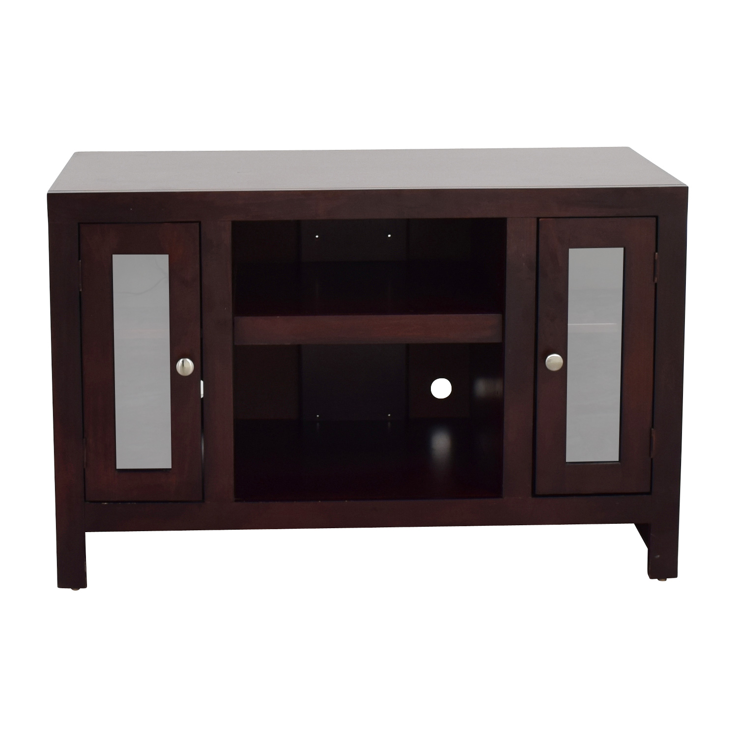 Golden Oak Golden Oak Del Mar Cherry Wood TV Console price
