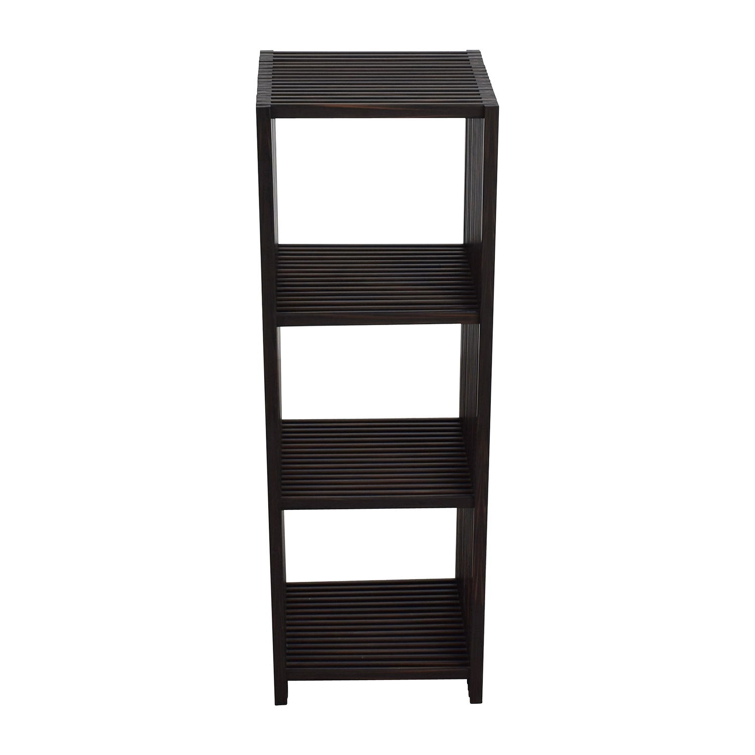 buy Seville Classics 4-Tier Folding Cube Bookcase Shelf Seville Classics Storage