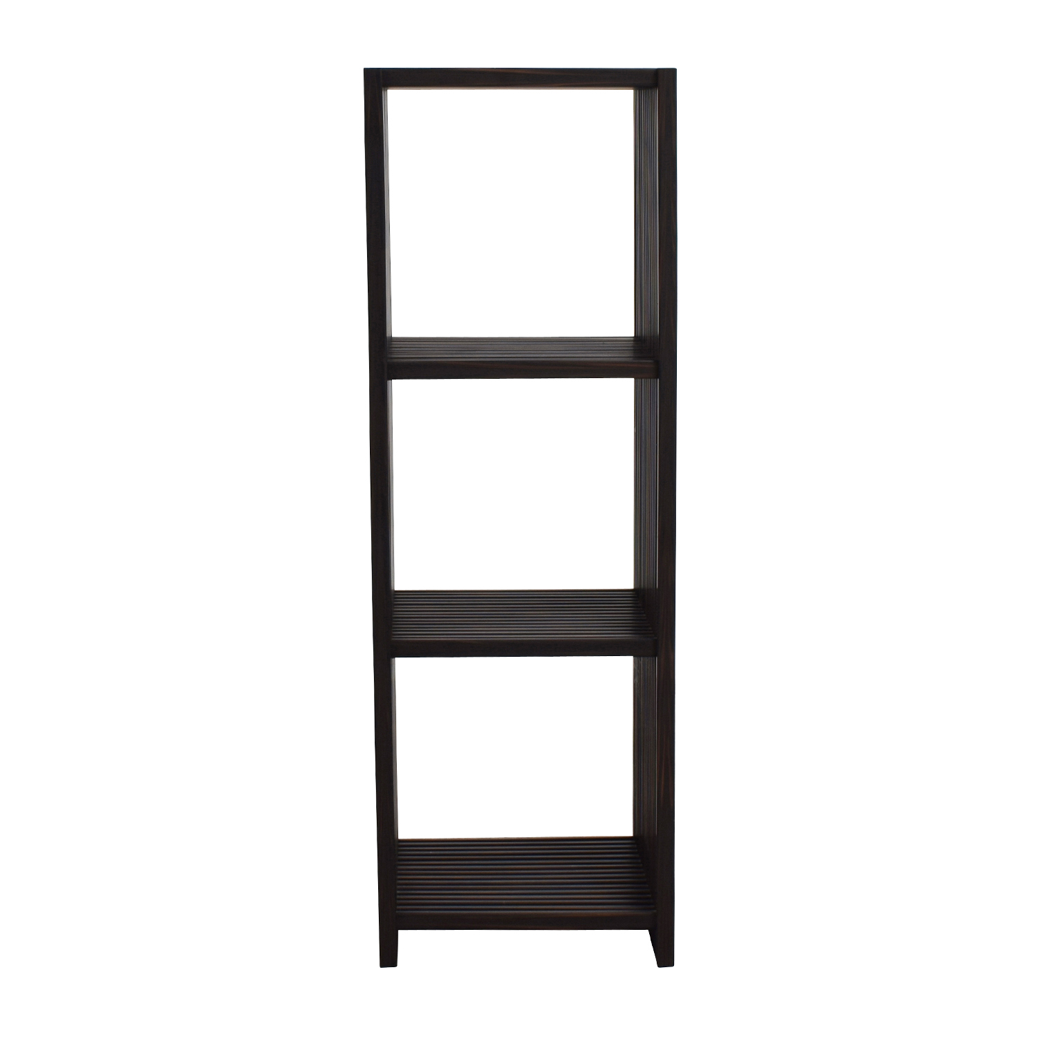 shop Seville Classics 4-Tier Folding Cube Bookcase Shelf Seville Classics