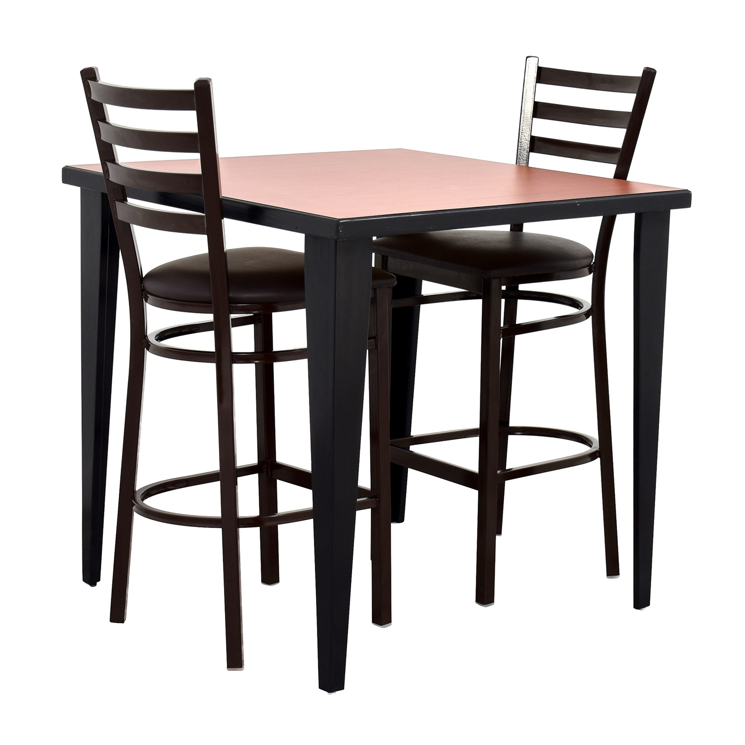 Dining Table With Two Chairs: Counter Height Kitchen Table And Two Chairs / Tables