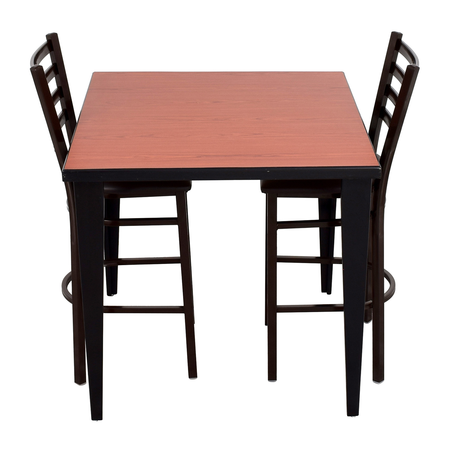 Counter Height Kitchen Table and Two Chairs on sale