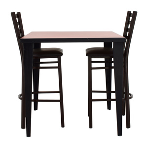 Counter Height Kitchen Table and Two Chairs nyc