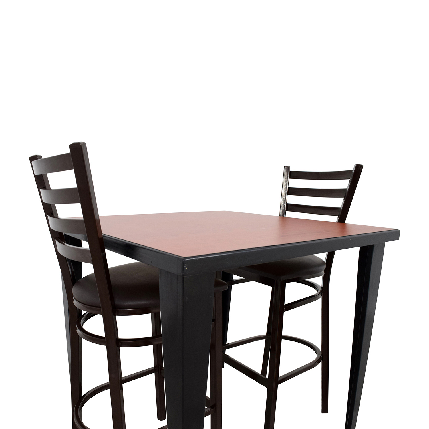 76 off counter height kitchen table and two chairs tables for Kitchen table and stools