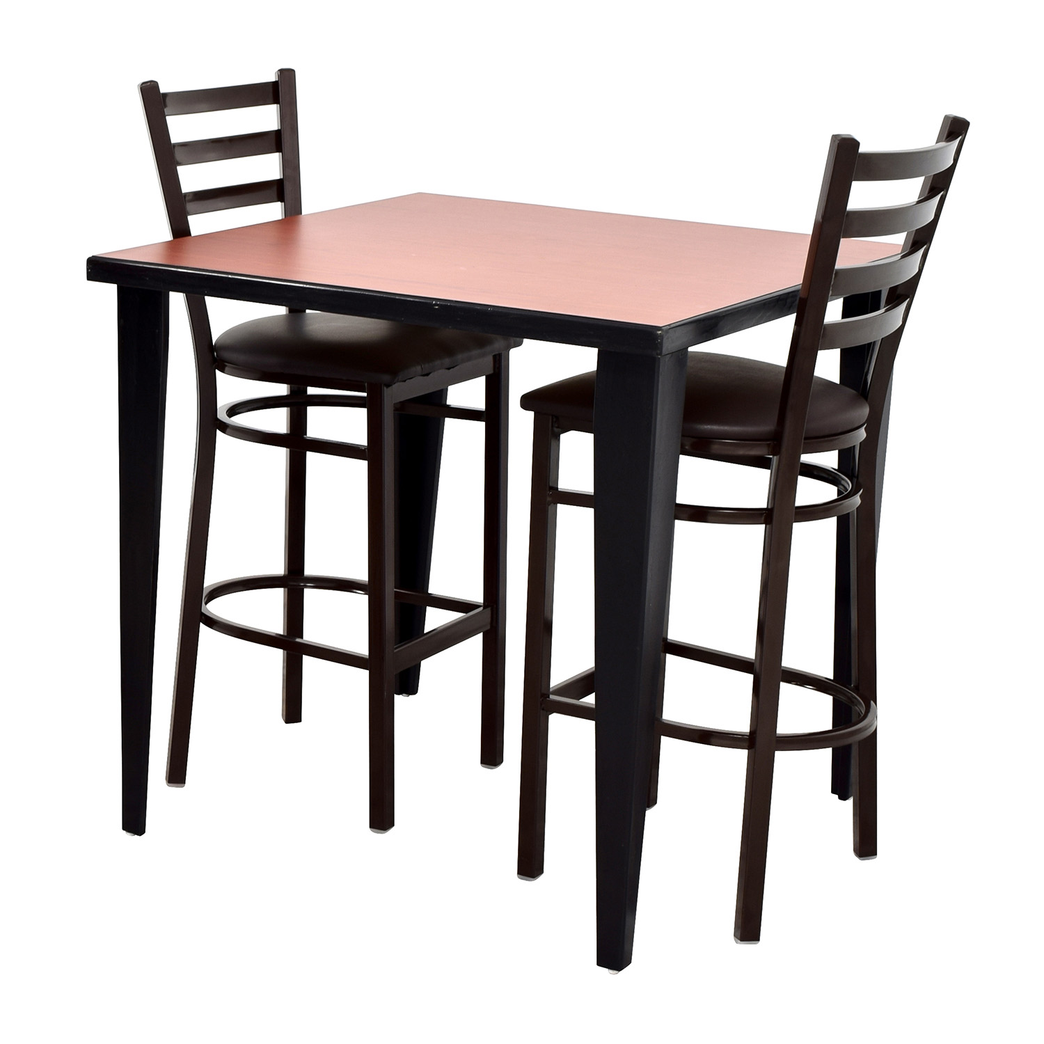 76 off counter height kitchen table and two chairs tables for Kitchen set table and chairs
