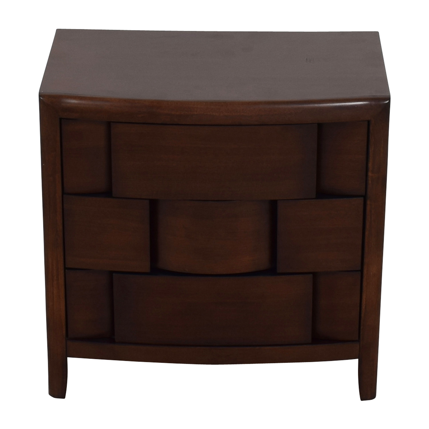 Raymour and Flanigan Mid-Century Nightstand sale