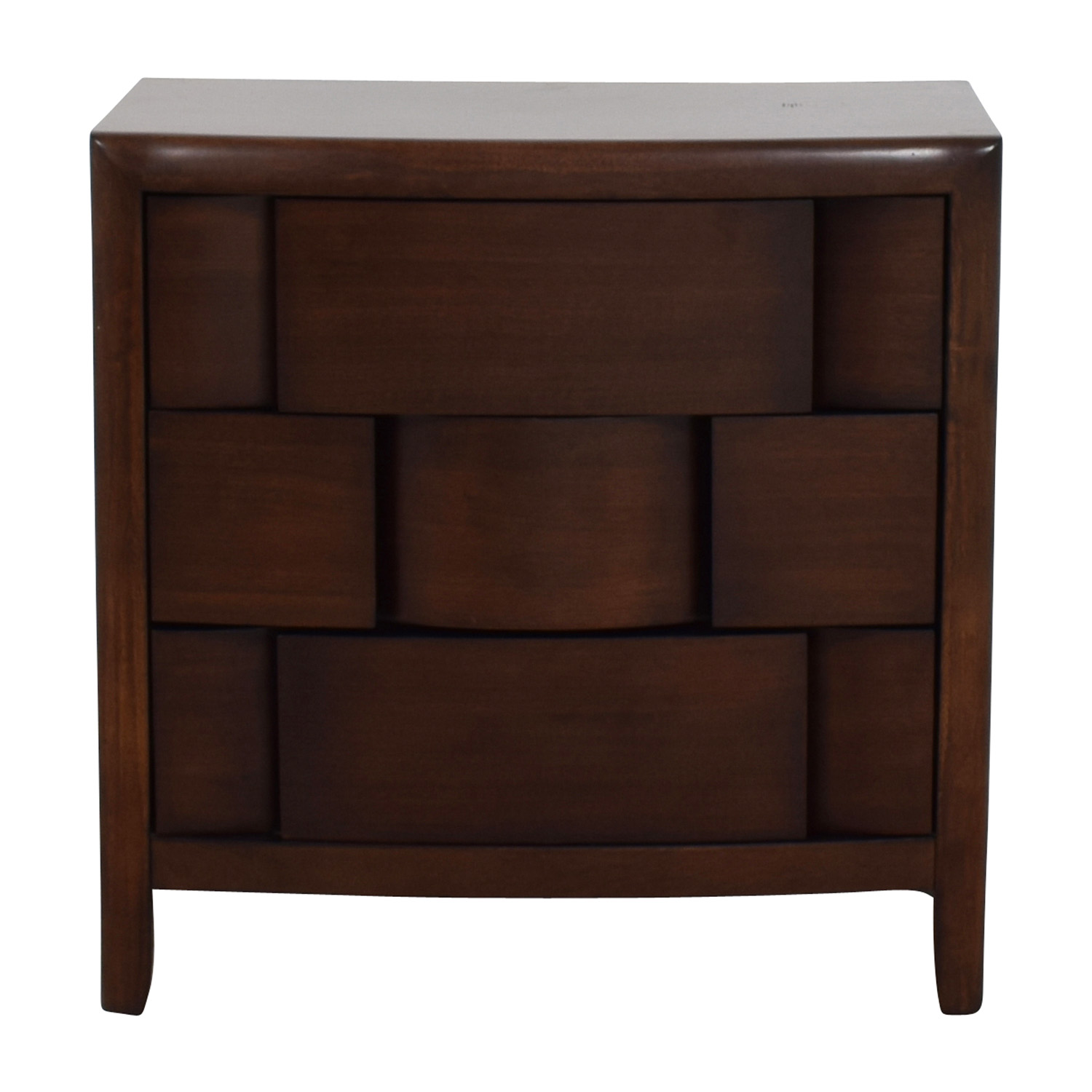 Raymour and Flanigan Mid-Century Nightstand Raymour and Flanigan