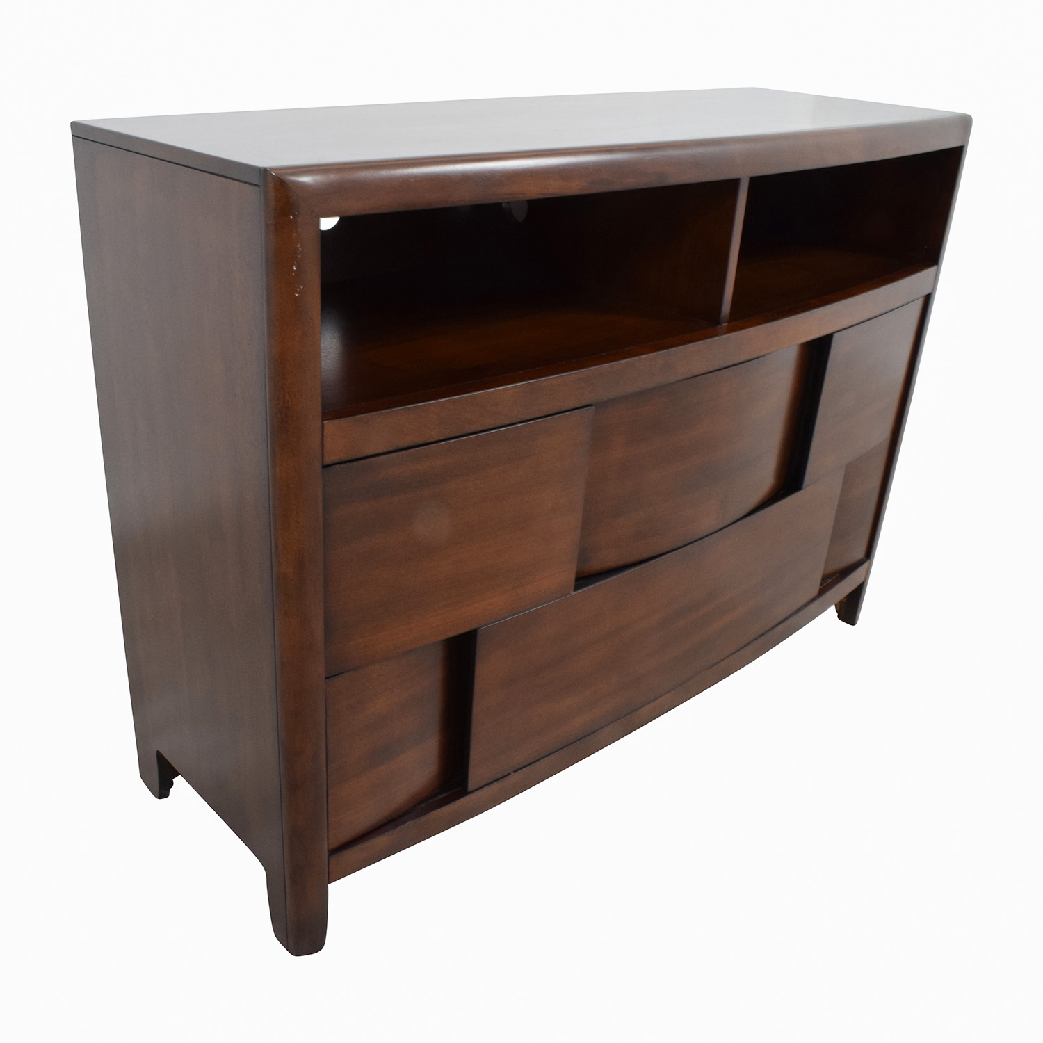 shop Raymour and Flanigan Modern Media Cabinet Raymour and Flanigan