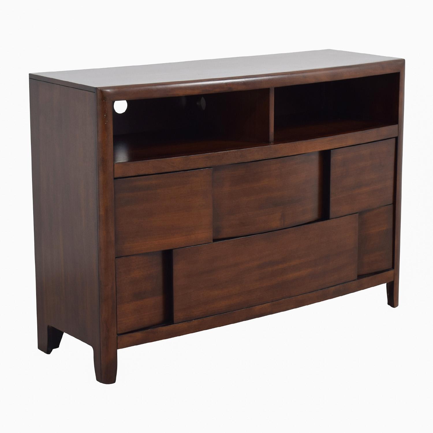 Raymour and Flanigan Modern Media Cabinet / Dressers