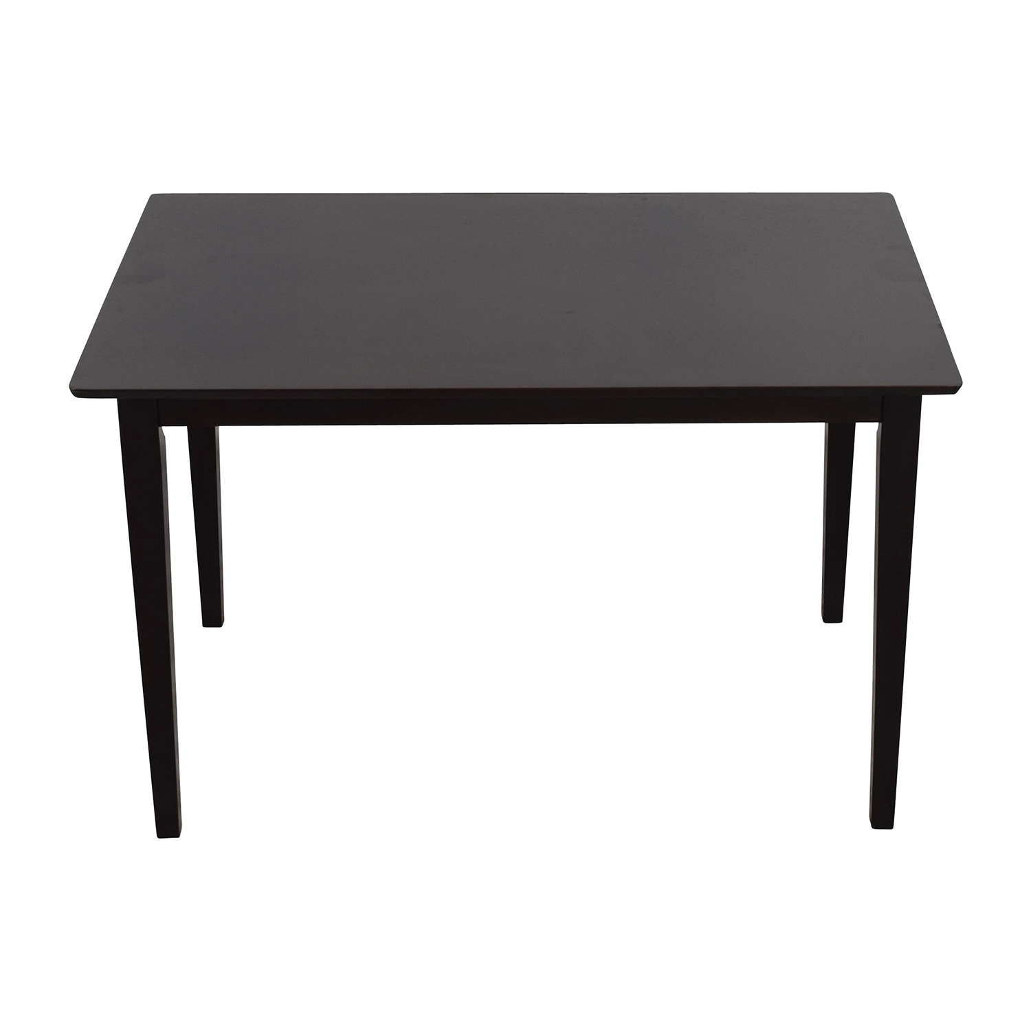 Coaster Home Furnishings Coaster Home Hyde Rectangular Casual Dining Leg Table nj