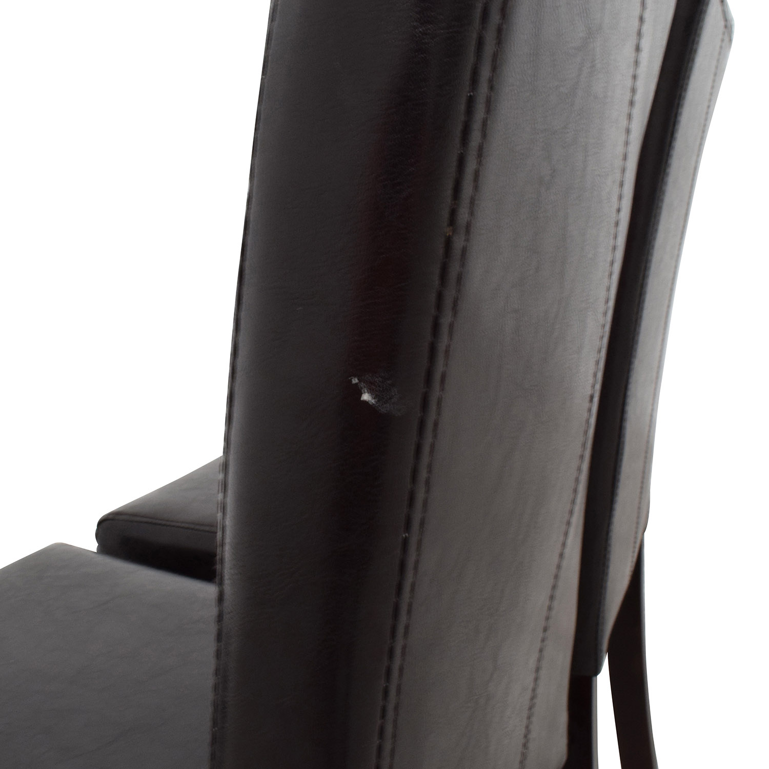 Roundhill Roundhill Solid Wood Leatherette Padded Parson Chairs nj