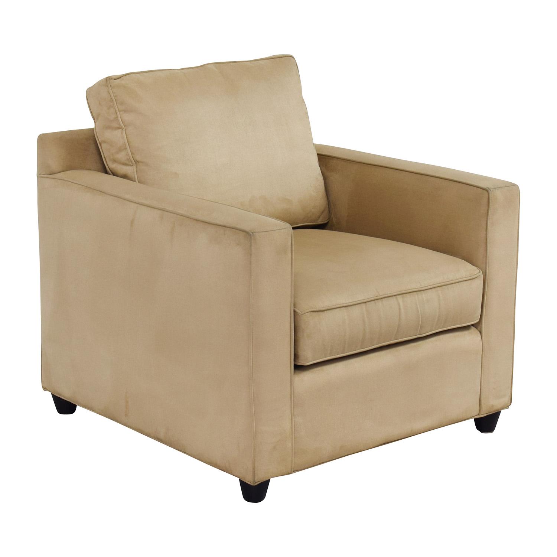 Strange 87 Off Crate Barrel Crate Barrel Davis Chair Chairs Inzonedesignstudio Interior Chair Design Inzonedesignstudiocom