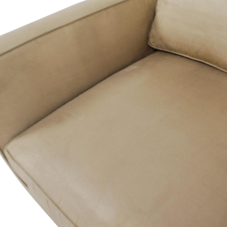 Enjoyable 87 Off Crate Barrel Crate Barrel Davis Chair Chairs Ibusinesslaw Wood Chair Design Ideas Ibusinesslaworg