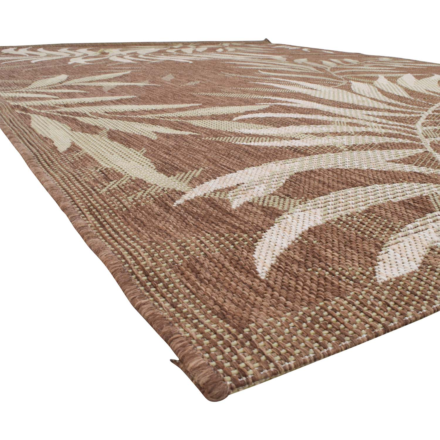 Balta Palm Leaf Havanah Indoor Outdoor Rug sale