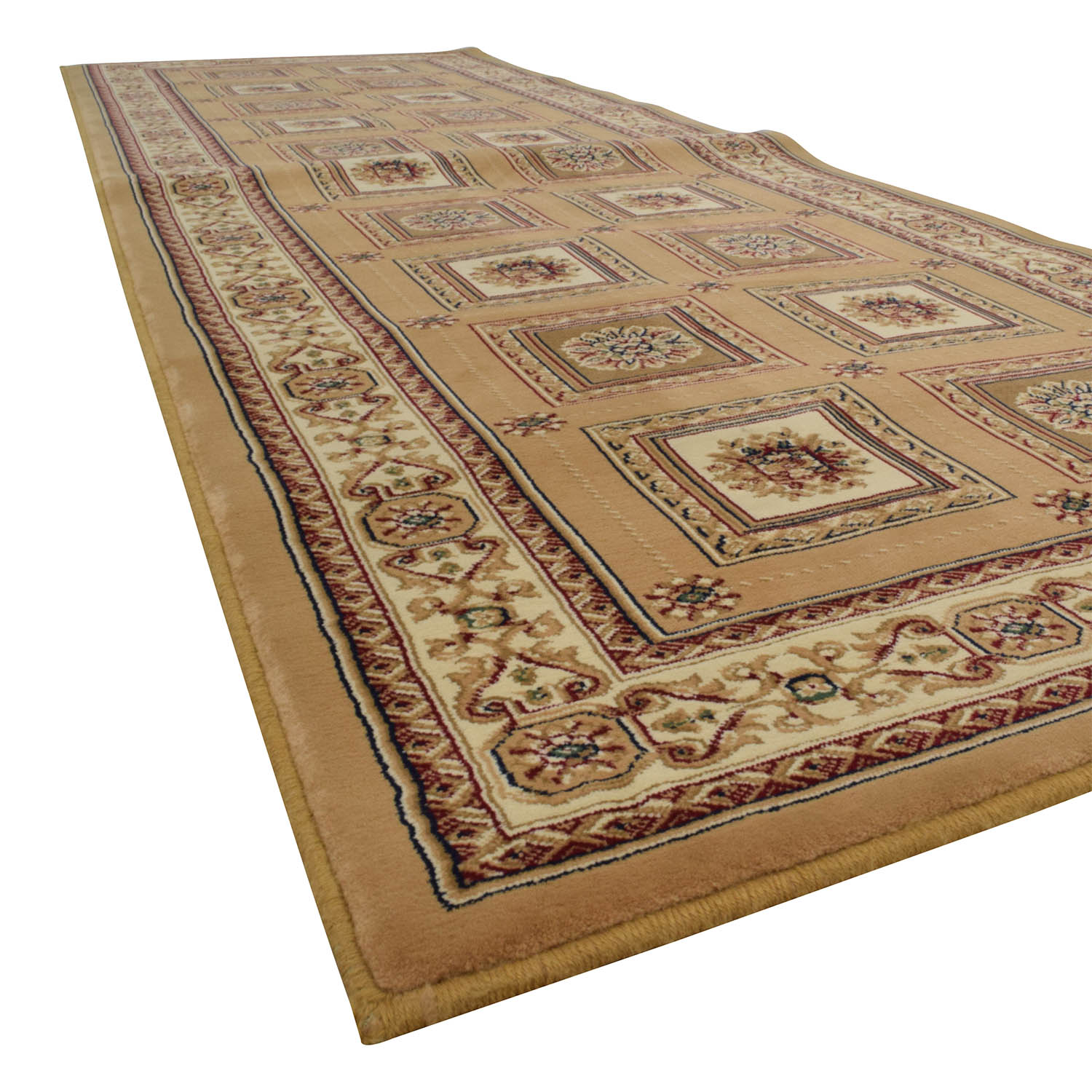 shop Regency Persian Tan 27 x 76 Rug Runner Regency Decor