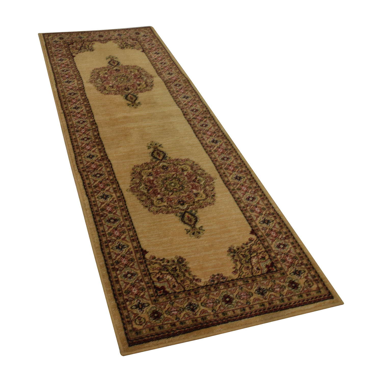 Monaco Monaco Persian Tan Rug Runner Decor