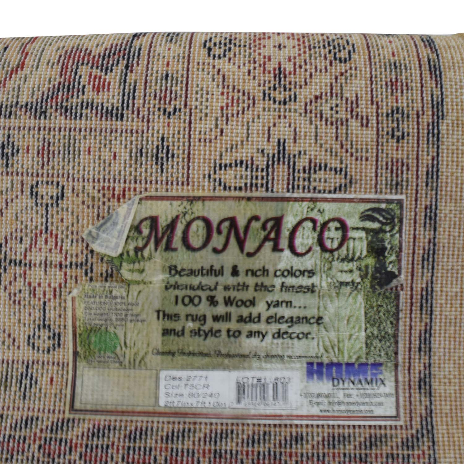 shop Monaco Monaco Persian Tan Rug Runner online