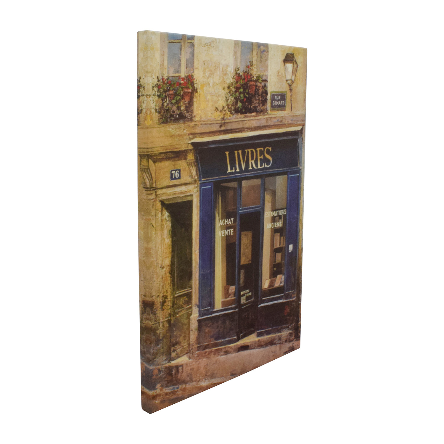 Chiu Tak Hak Canvas Painting of Livres Light and dark colors