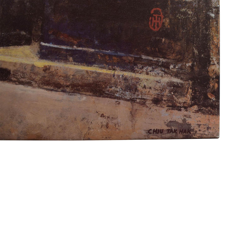 Chiu Tak Hak Canvas Painting of Livres / Decor