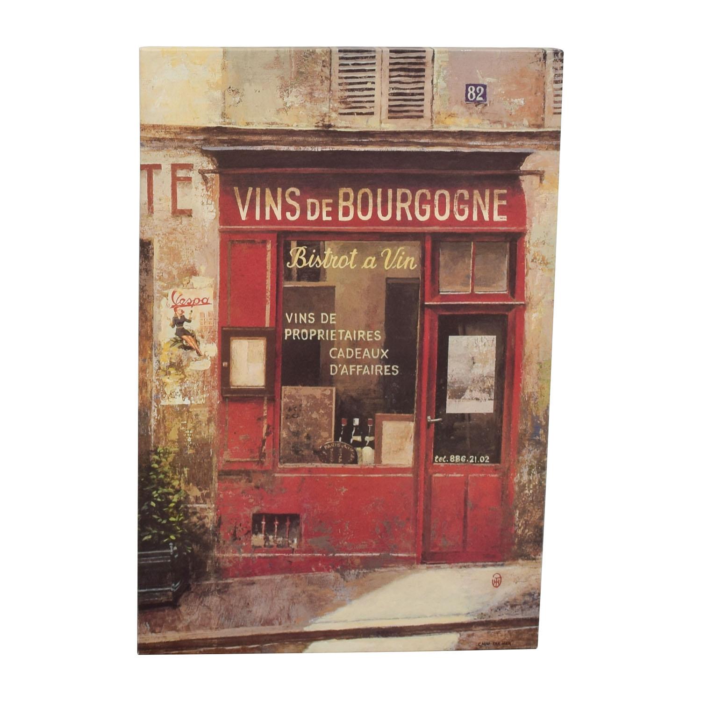 Chiu Tak Hak Chiu Tak Hak Canvas Painting Vins De Bourgogne discount