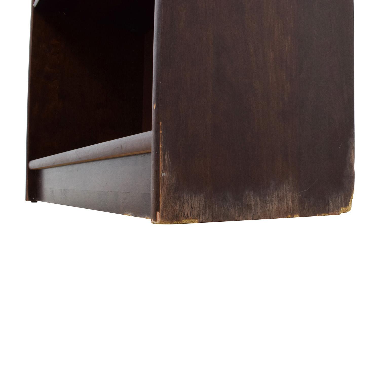 Solid Wood Book Shelf used