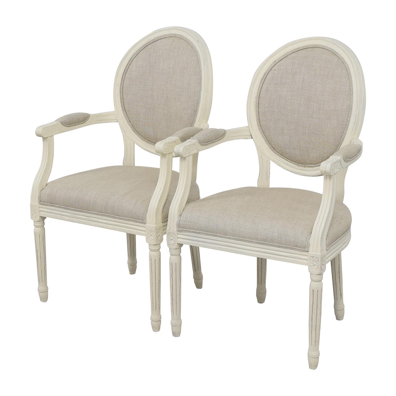buy Restoration Hardware Beige French Chairs Restoration Hardware Chairs