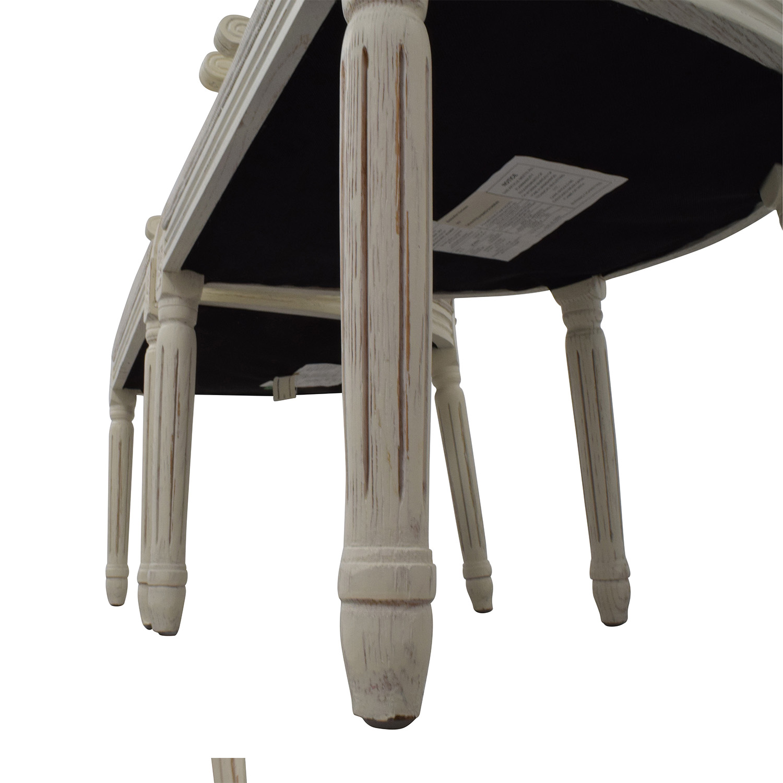 Restoration Hardware Beige French Chairs sale