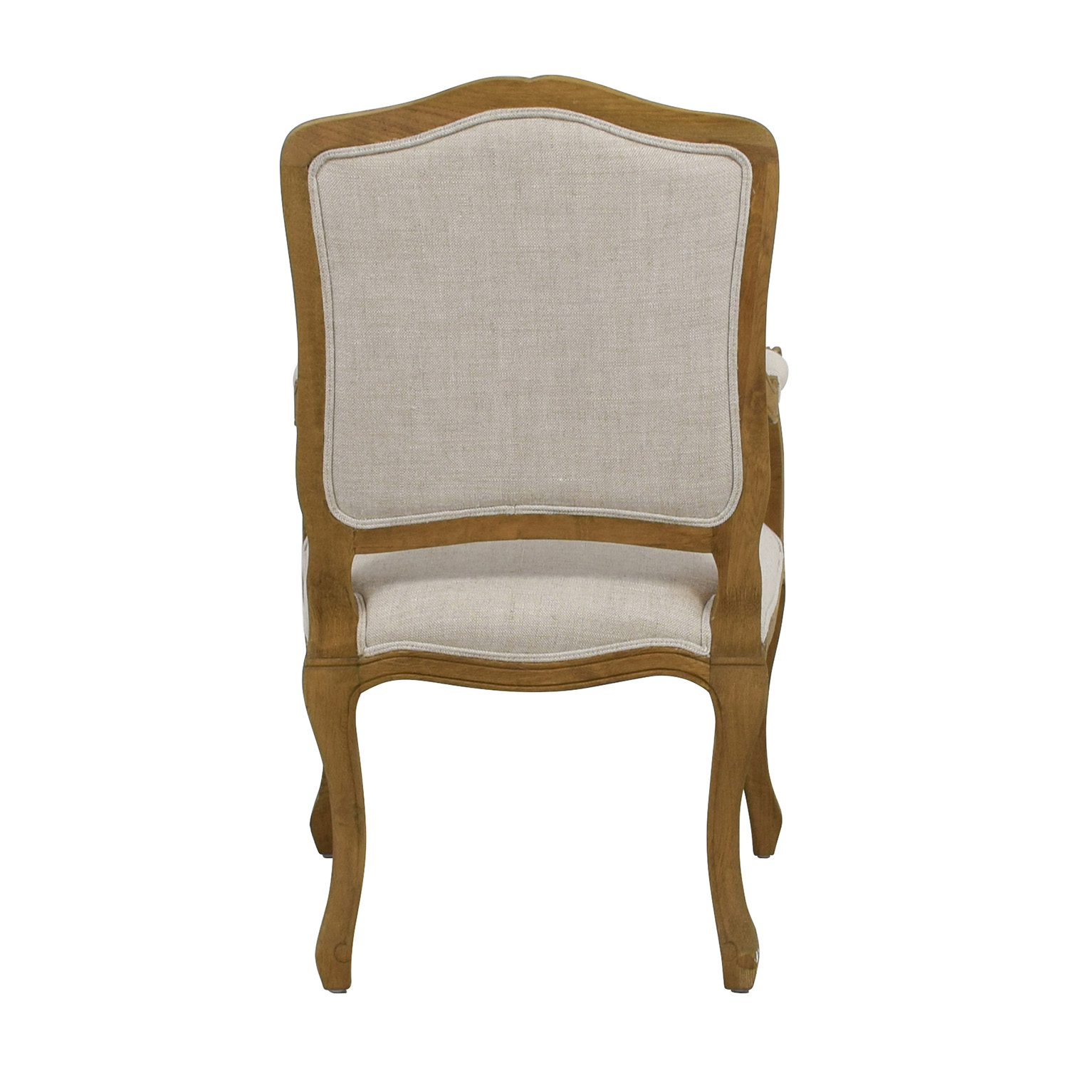 ... Restoration Hardware Restoration Hardware Vintage French Camelback  Fabric Armchair Accent Chairs ...
