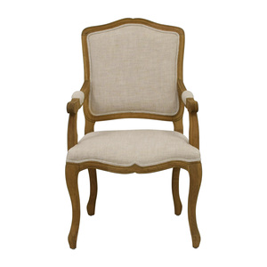 Restoration Hardware Restoration Hardware Vintage French Camelback Fabric Armchair used