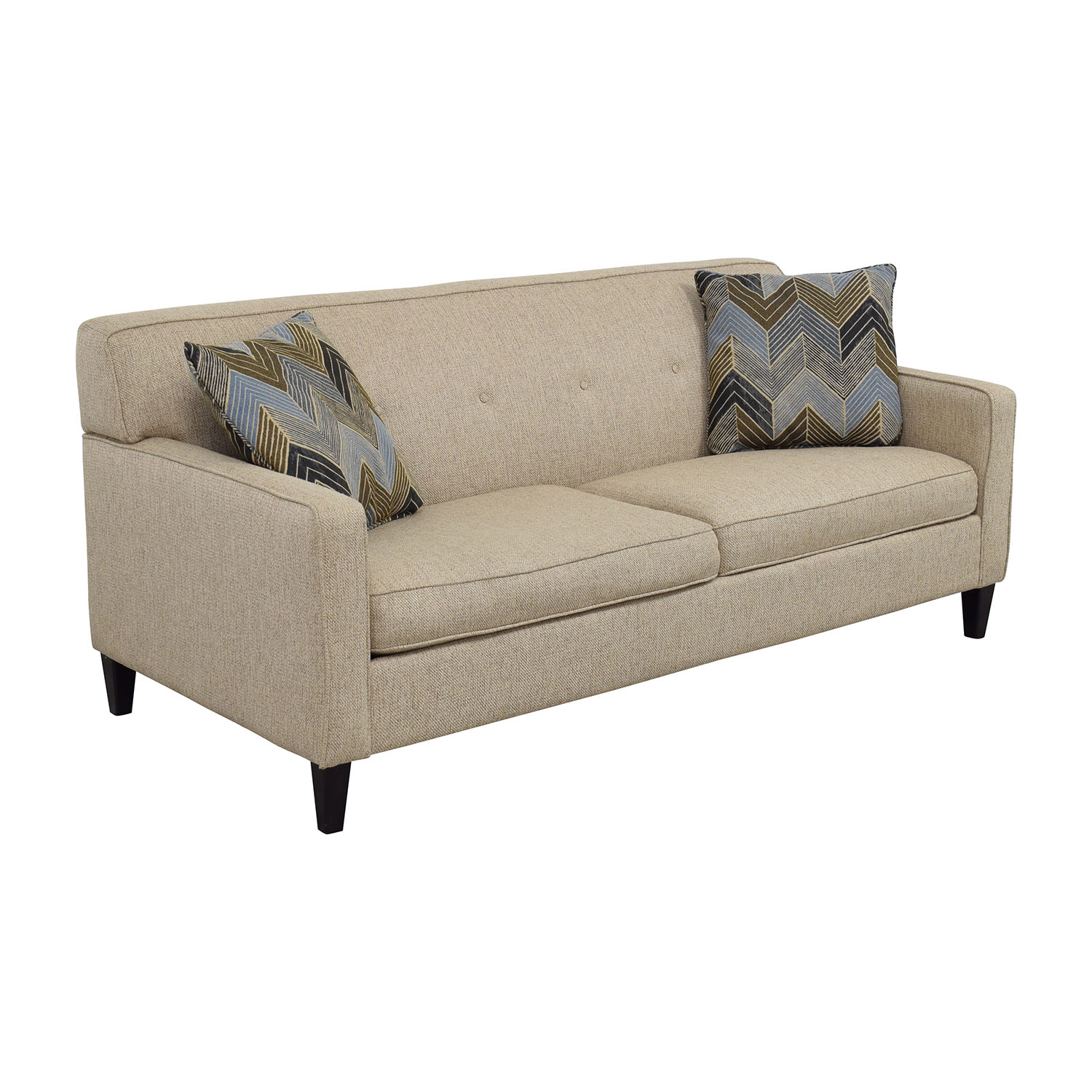 Raymour & Flanigan Raymour & Flanigan Tan Maddox Sofa nyc