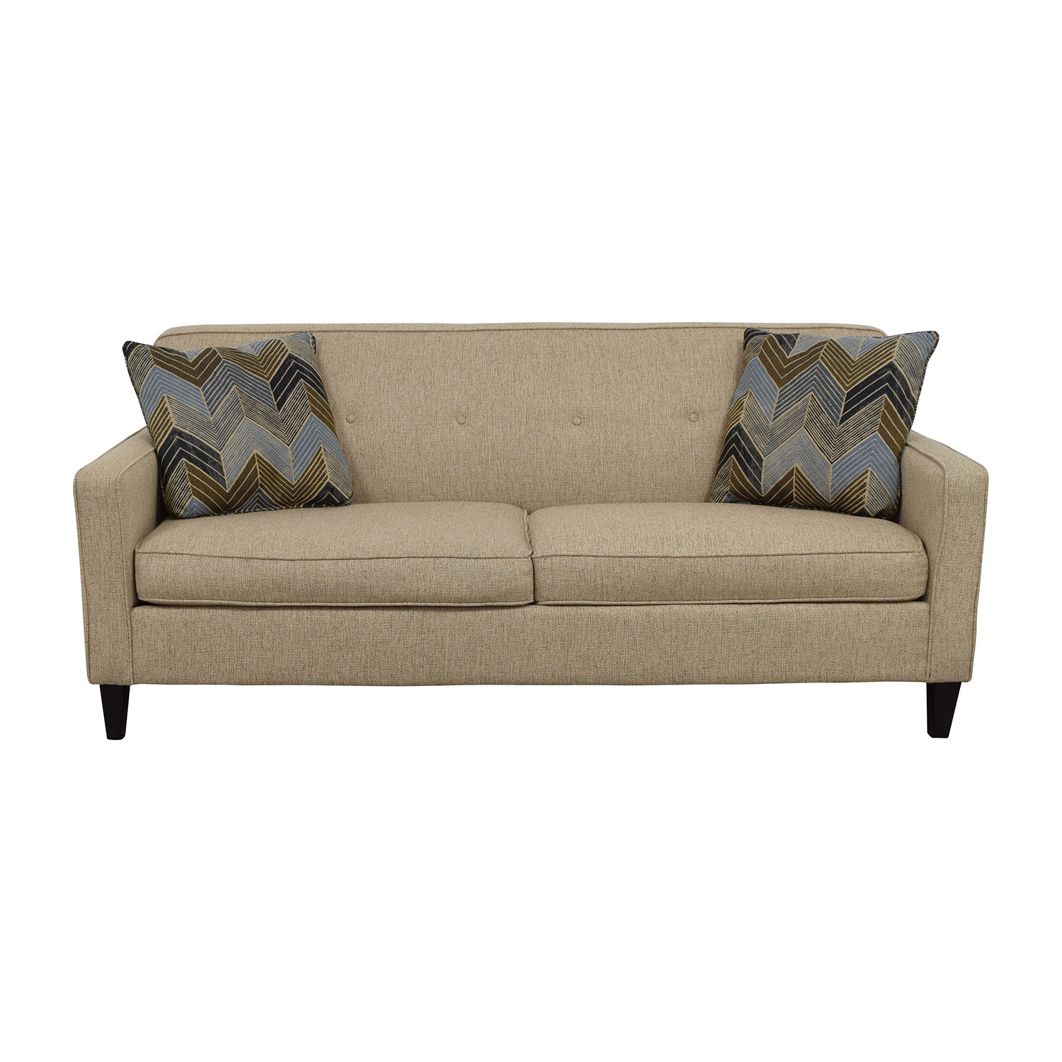 Raymour & Flanigan Raymour & Flanigan Tan Maddox Sofa on sale
