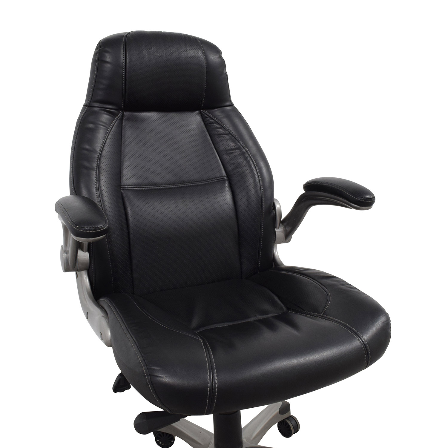 Staples Staples Torrent High-Back Executive Chair in Black nyc