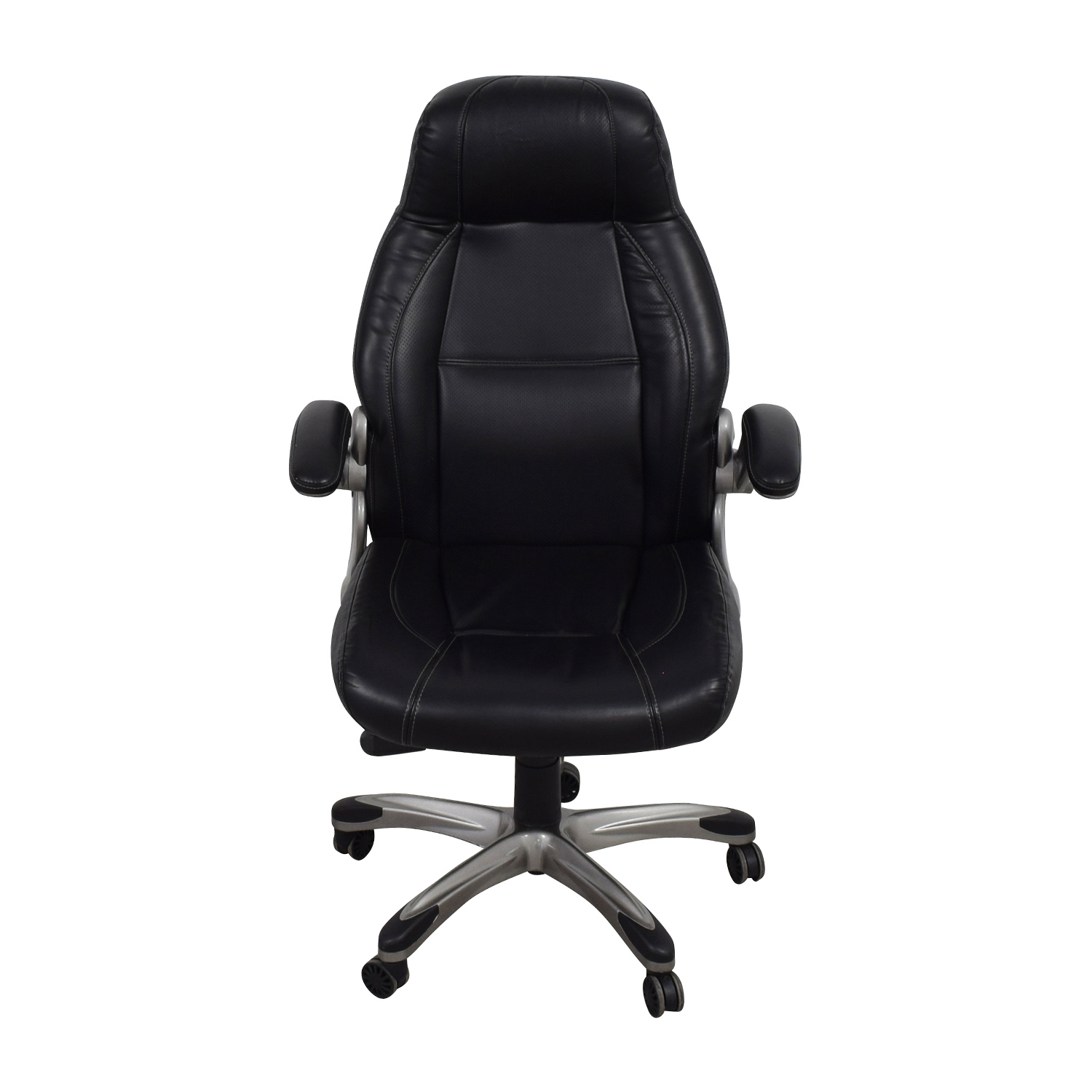 Staples Staples Torrent High-Back Executive Chair in Black