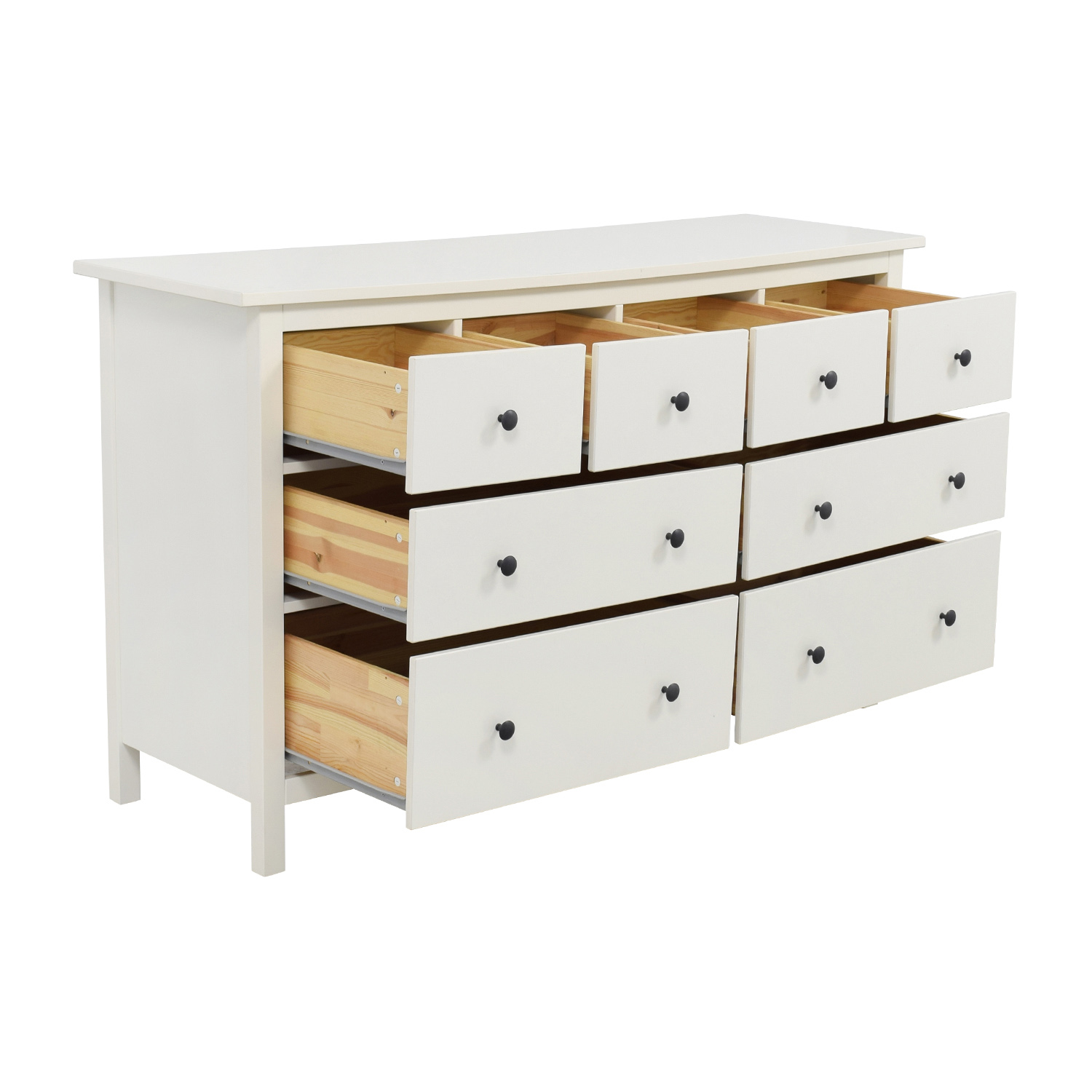 43 off ikea ikea hemnes eight drawer dresser storage