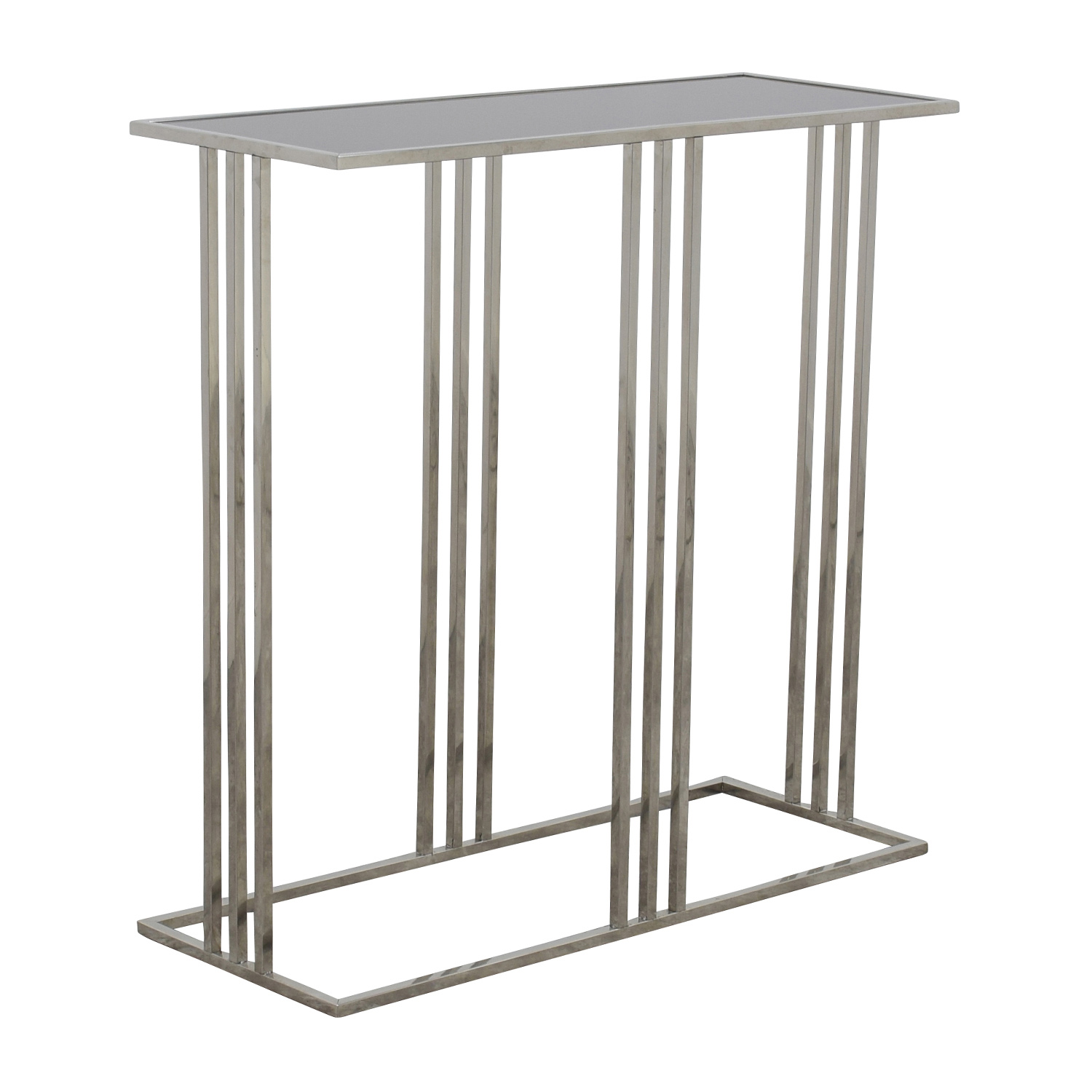 Marshalls Homegoods Marshalls Homegoods Black and Silver Console Entryway Table nj