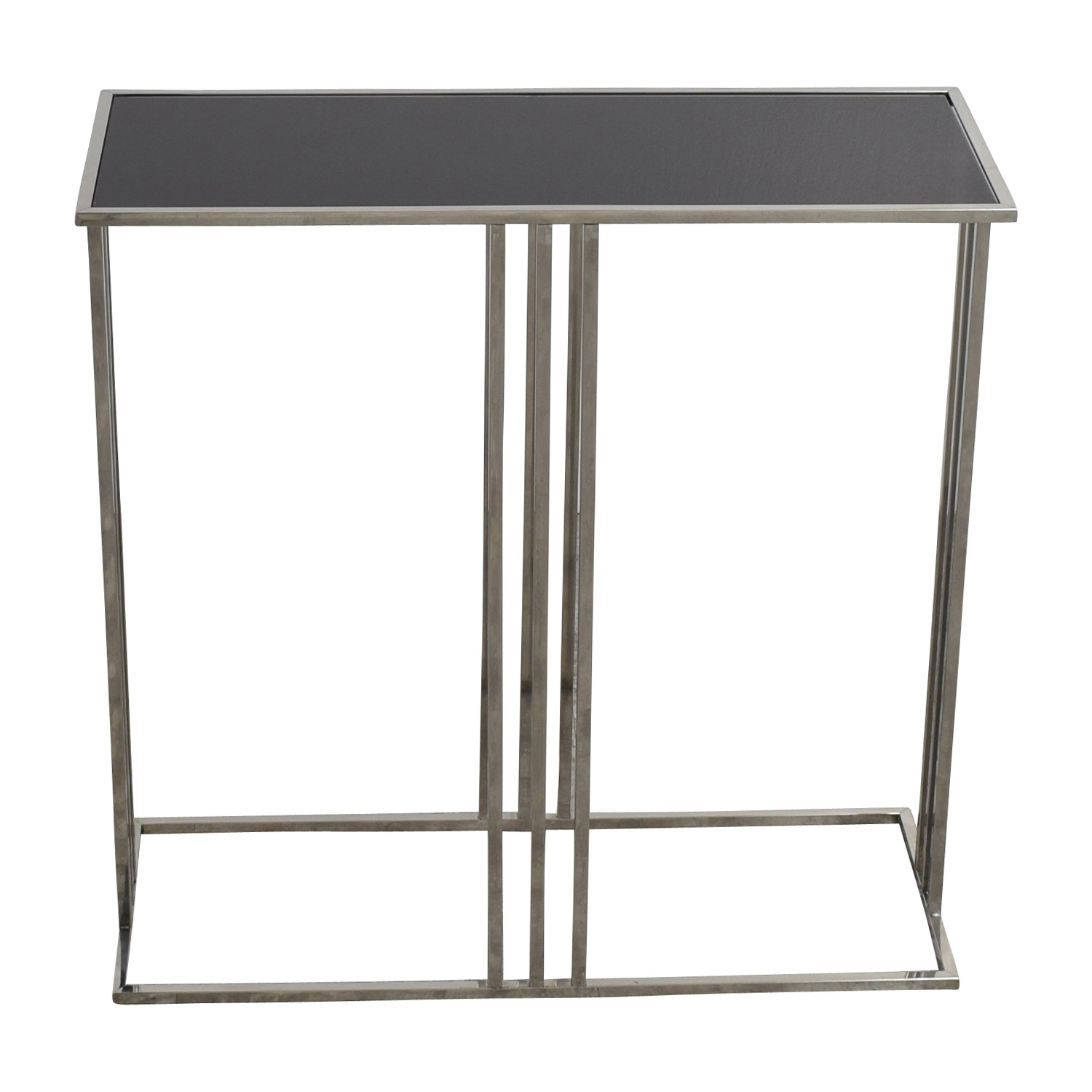 Marshalls Homegoods Black and Silver Console Entryway Table / Tables