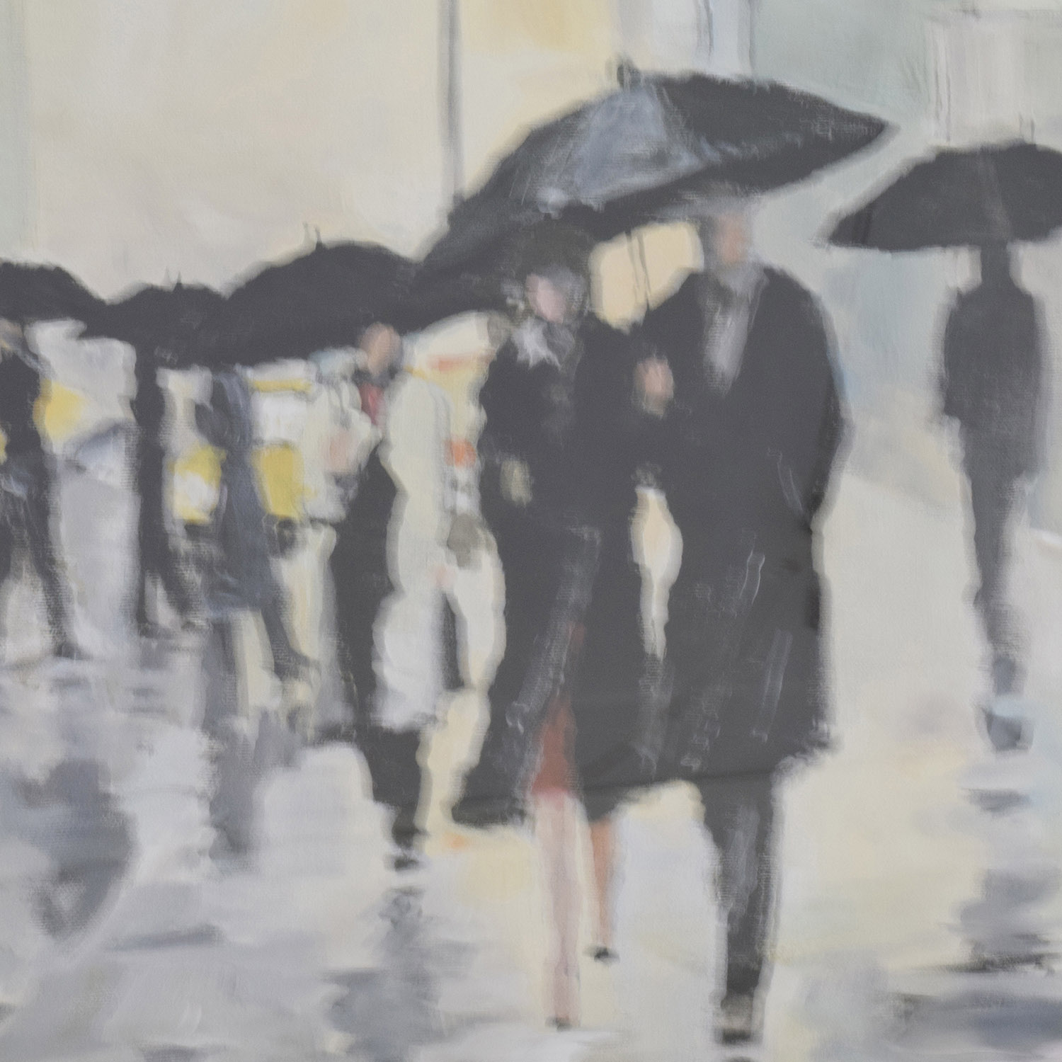 Avery Tillmon Avery Tillmon Canvas Painting City in the Rain coupon