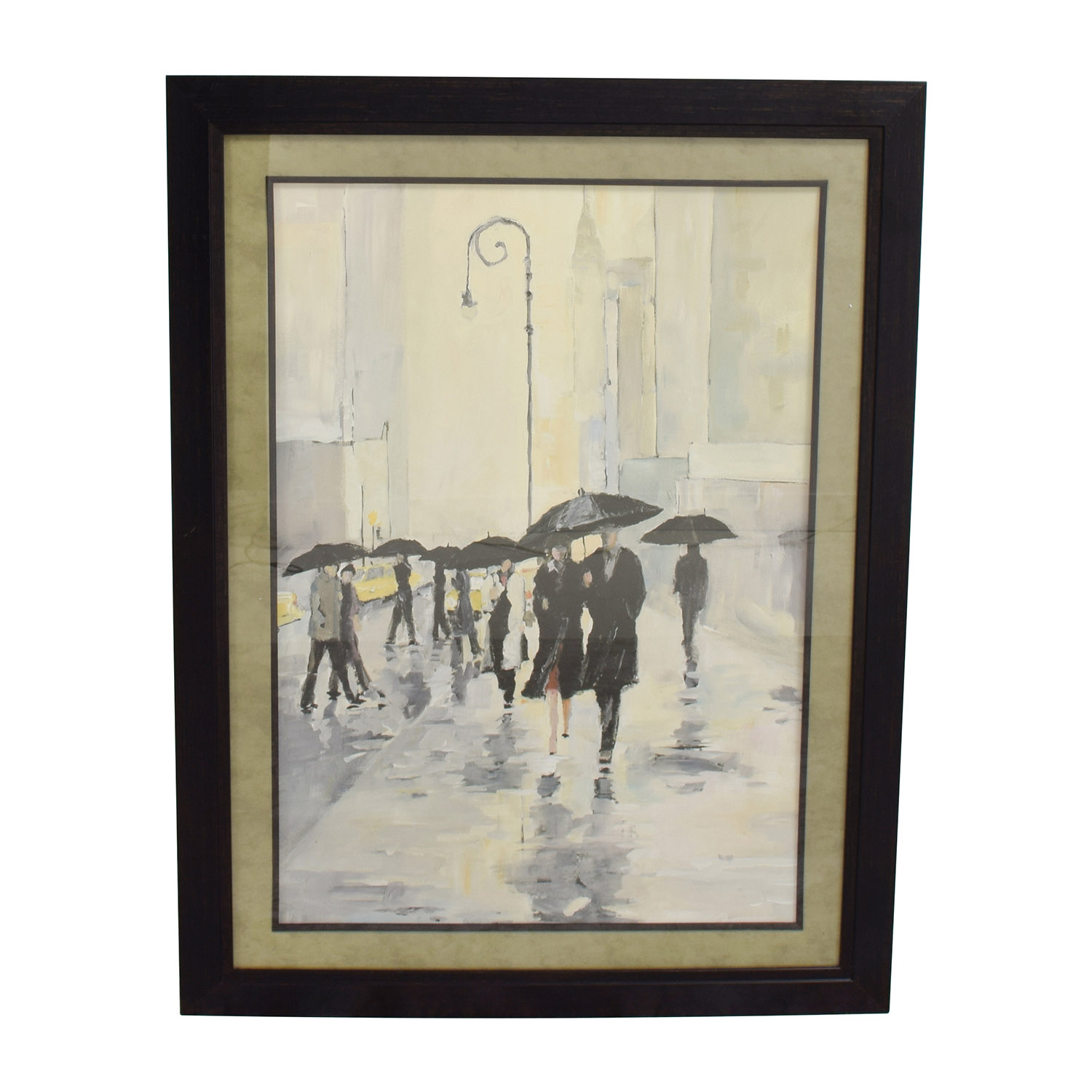 buy Avery Tillmon Canvas Painting City in the Rain Avery Tillmon Decor